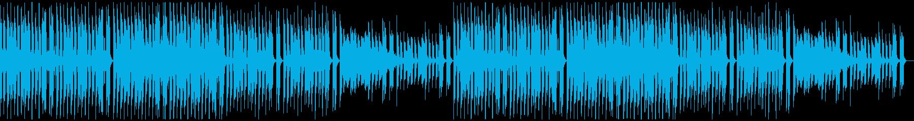 クール・スタイリッシュなBGM・4の再生済みの波形