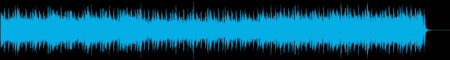 【キック抜き】爽やかで力強いストリングスの再生済みの波形