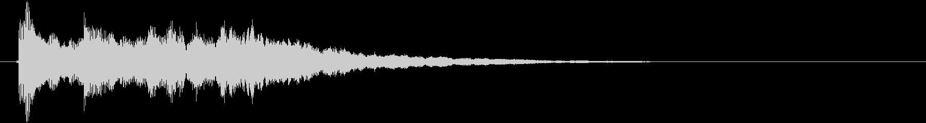 音楽ロゴ;スパイ映画エレクトリック...の未再生の波形