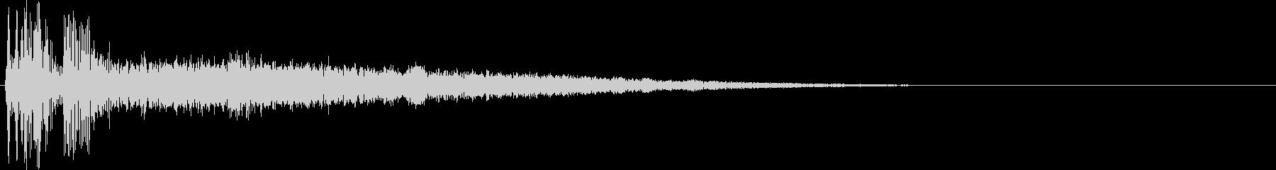 【SFX】アクション_43 ワープの未再生の波形