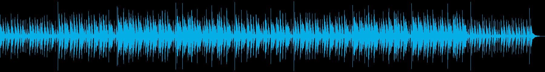 おとぼけでコミカルなカートゥーン系の再生済みの波形
