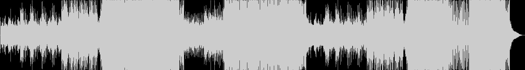 ゆったりとしたFuture Popの未再生の波形