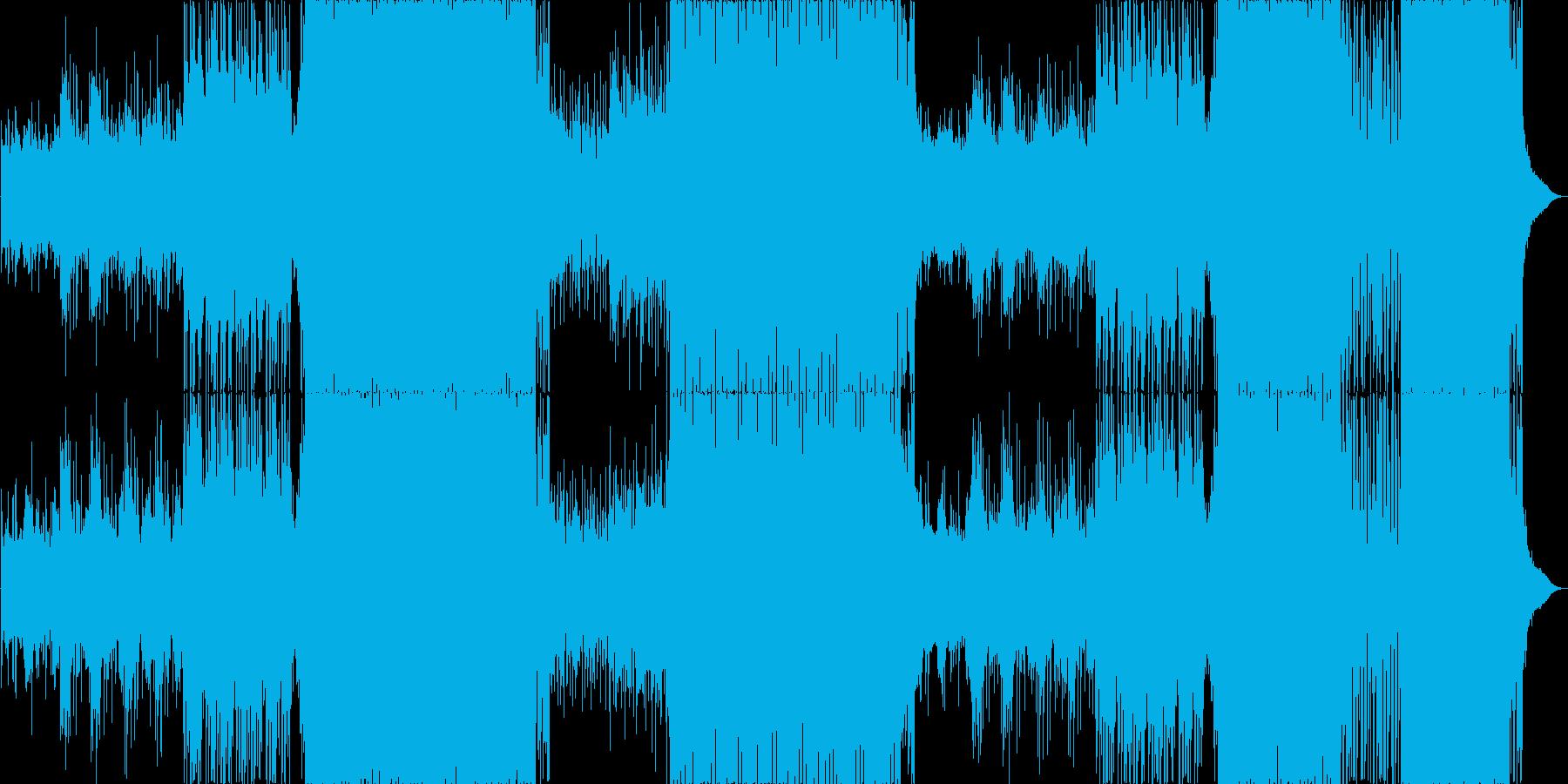 ゆったりとしたFuture Popの再生済みの波形