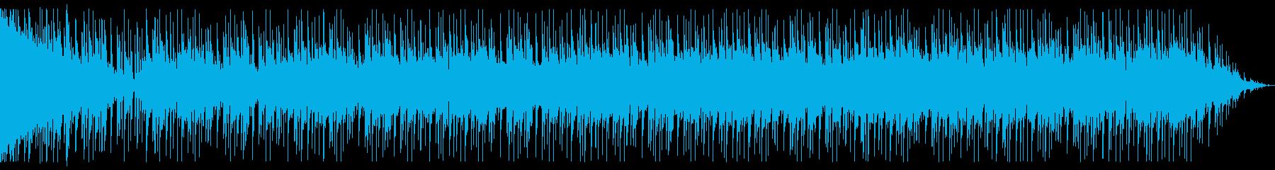 シリアスなニュース風のBGMの再生済みの波形