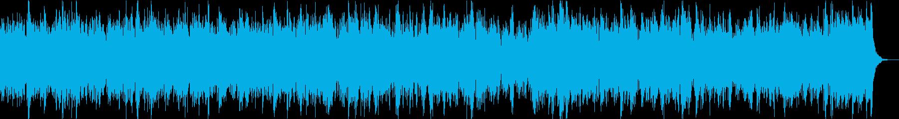 ニュースや科学映像向き無限ループ系BGMの再生済みの波形