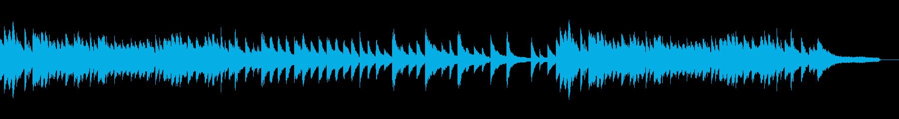 ピアノソロ ノスタルジック BGMの再生済みの波形