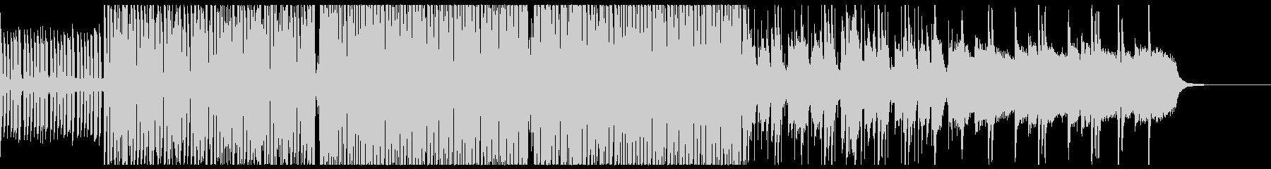 暖かい雰囲気のファンクの未再生の波形