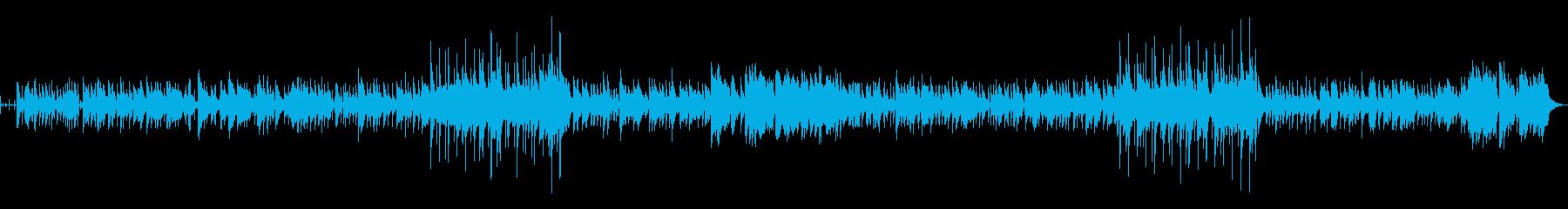 3拍子のjazzふうアレンジの再生済みの波形