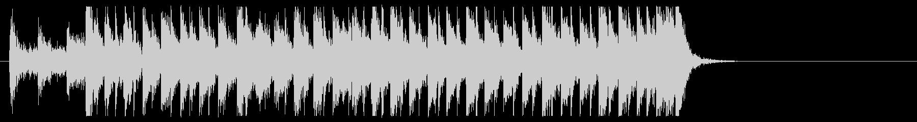 三味線と太鼓のアンサンブル4BPM120の未再生の波形