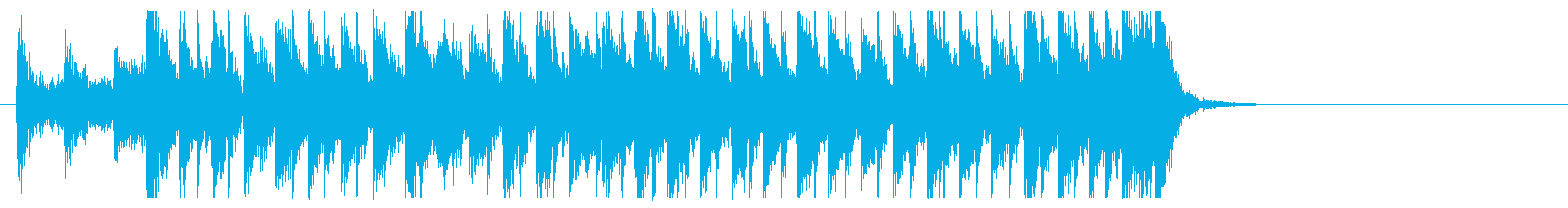 三味線と太鼓のアンサンブル4BPM120の再生済みの波形