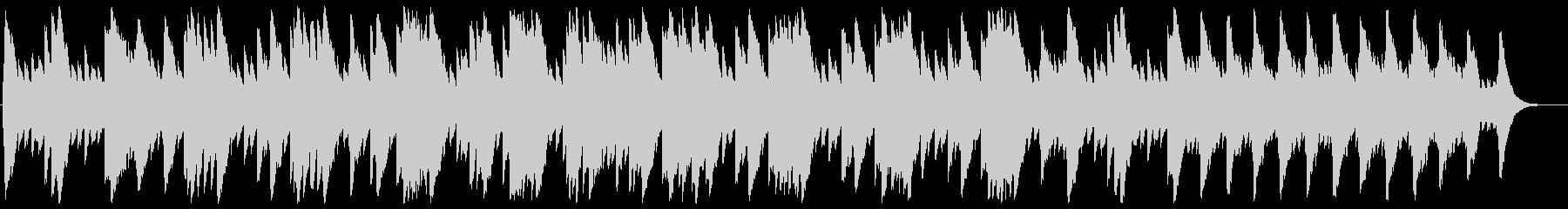 アベマリア(シューベルト)の未再生の波形