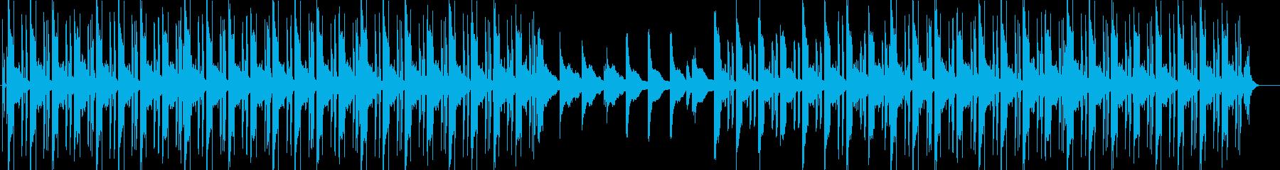 サイケデリックで眠いヒップホップの再生済みの波形