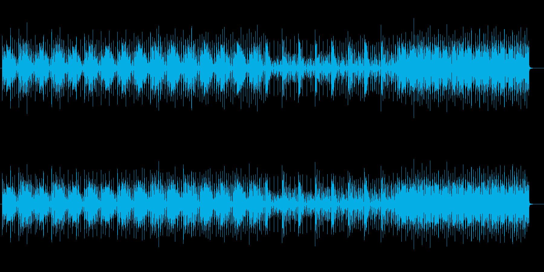 SF感ある神秘的なテクノサウンドの再生済みの波形