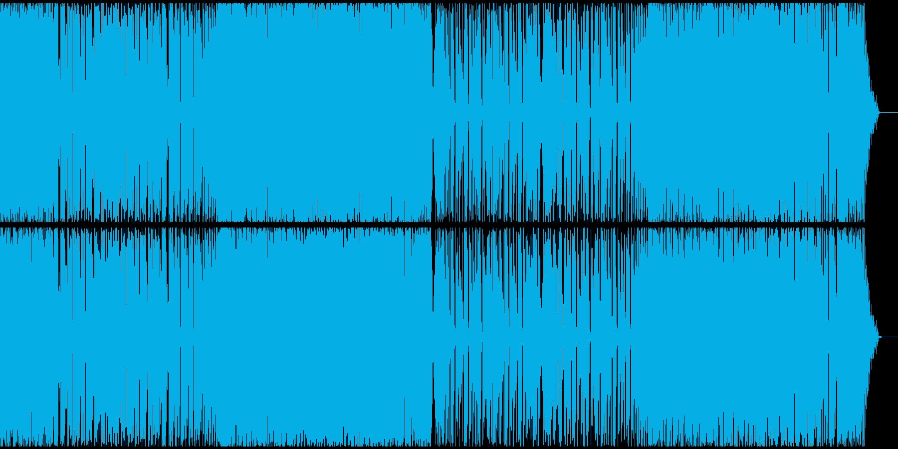 【EDM】トランス、ロング10の再生済みの波形