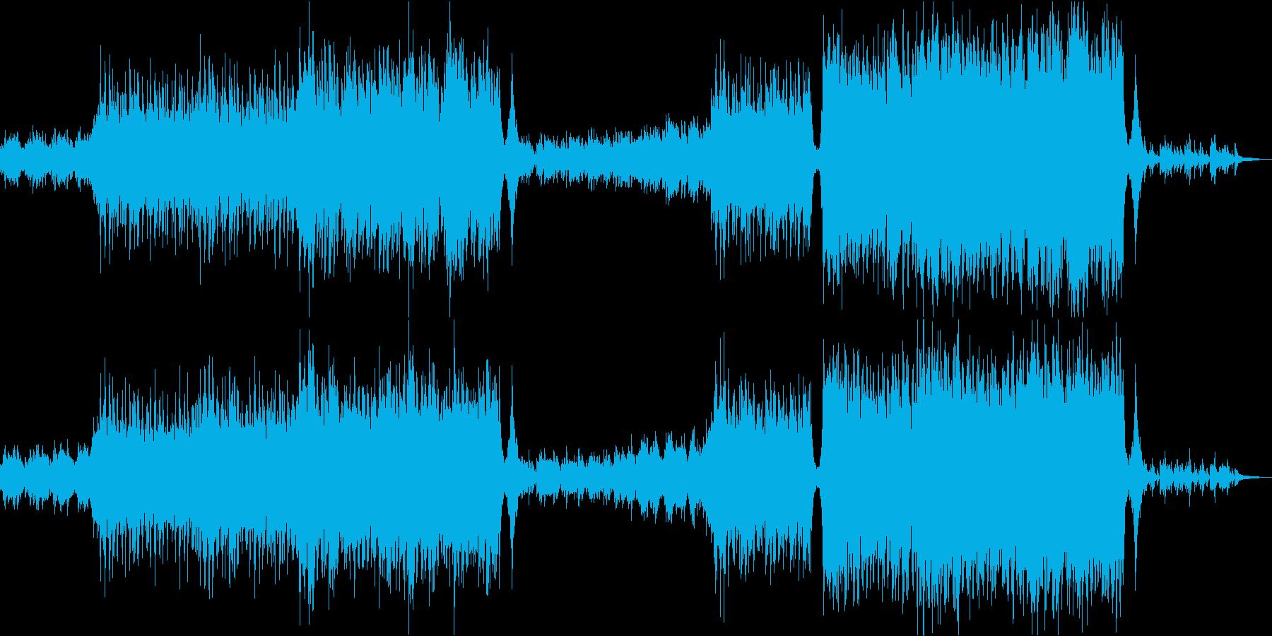 希望/明るい/壮大オーケストラ/企業VPの再生済みの波形