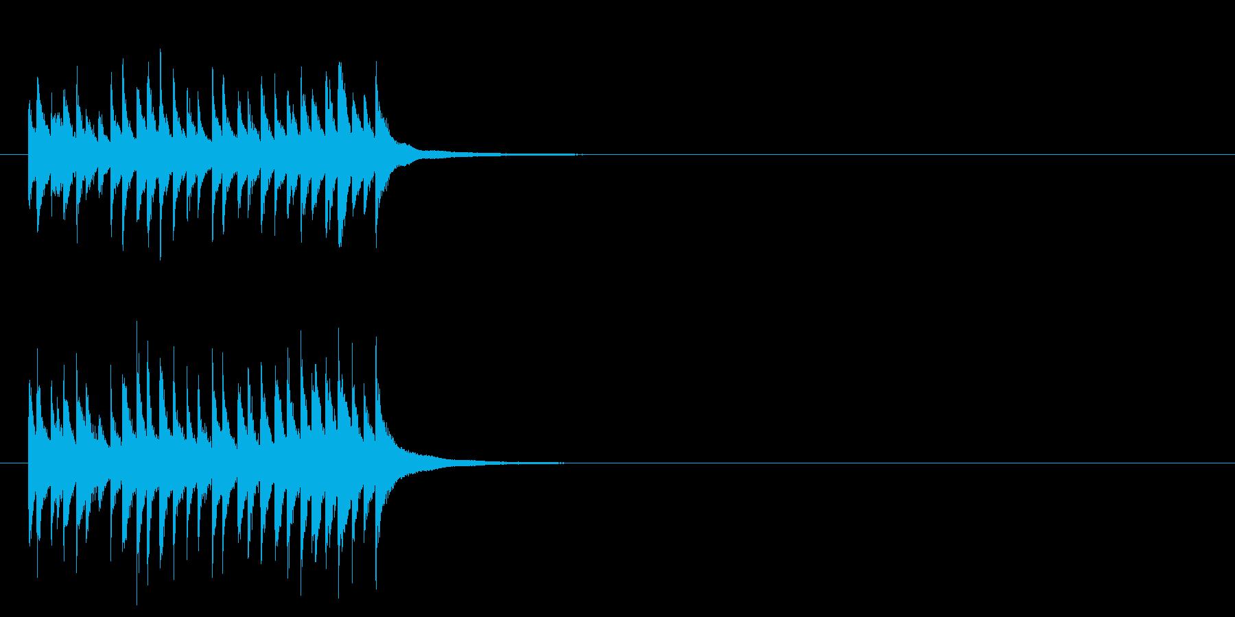アイアンディナートライアングルベル...の再生済みの波形