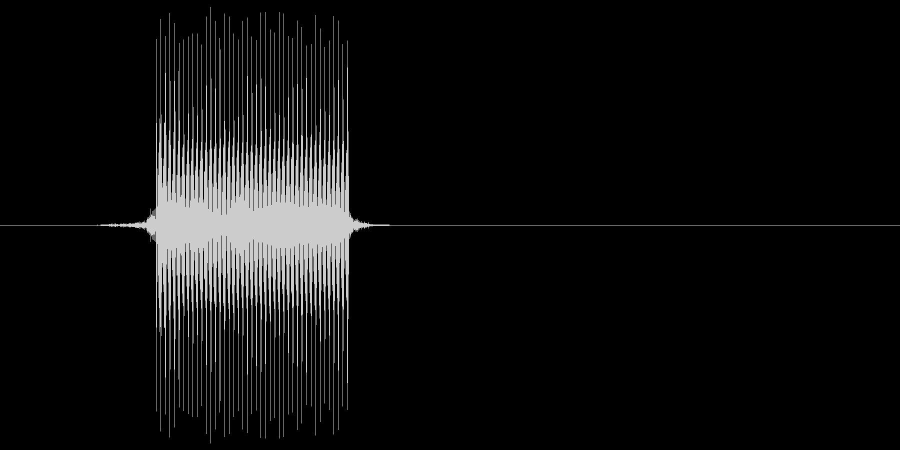 ゲーム(ファミコン風)セレクト音_038の未再生の波形