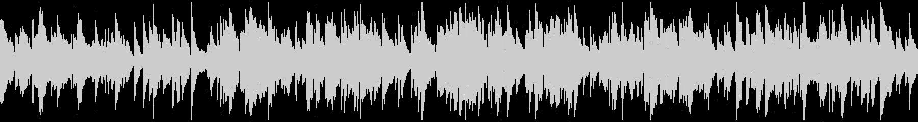 ゆったりくつろぎの癒し系ジャズ※ループ版の未再生の波形