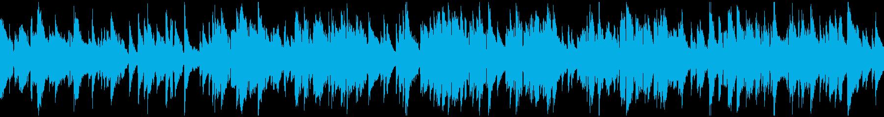 ゆったりくつろぎの癒し系ジャズ※ループ版の再生済みの波形