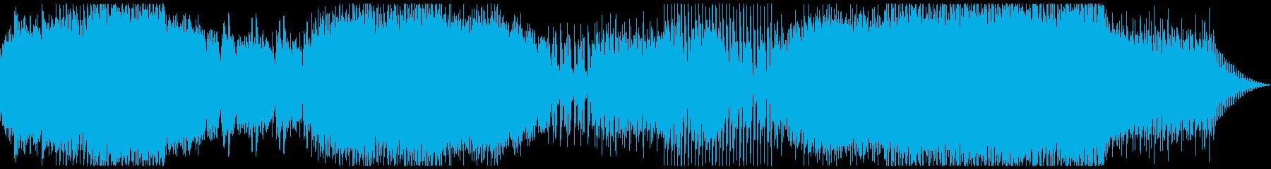 抜け殻のテーマ、エンドロール素材の再生済みの波形
