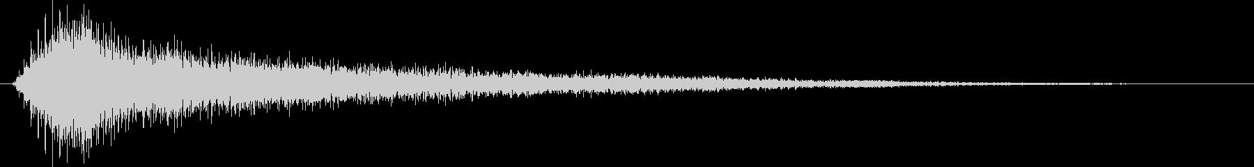 ゲームロゴボタン系_ティロリンの未再生の波形