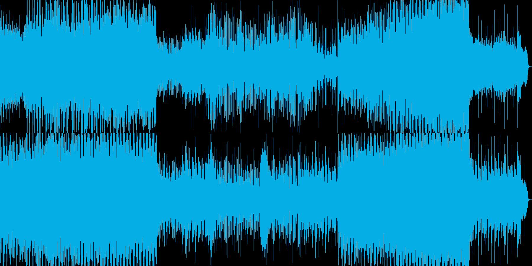 リゾートにいるみたいな癒しのリラックス音の再生済みの波形