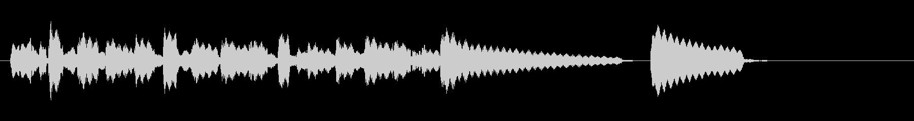 テーマ1B:バイブの未再生の波形