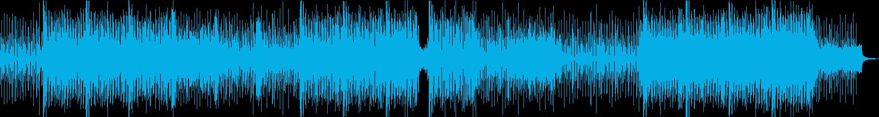 緊迫したアップテンポな曲ですの再生済みの波形