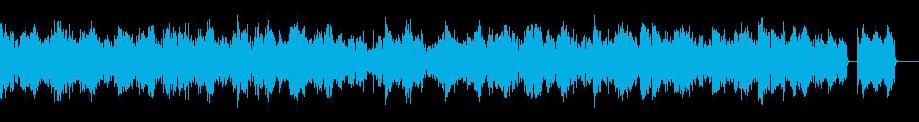 ちょっと奇妙なオルガンピアノの再生済みの波形