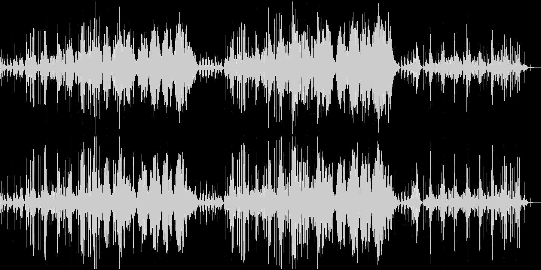 モーニングルーティン・自然・ピアノソロの未再生の波形