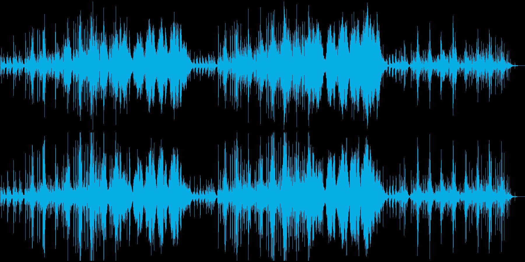 モーニングルーティン・自然・ピアノソロの再生済みの波形
