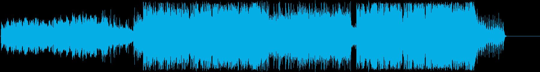 もの悲しいメロディのエスニックの再生済みの波形