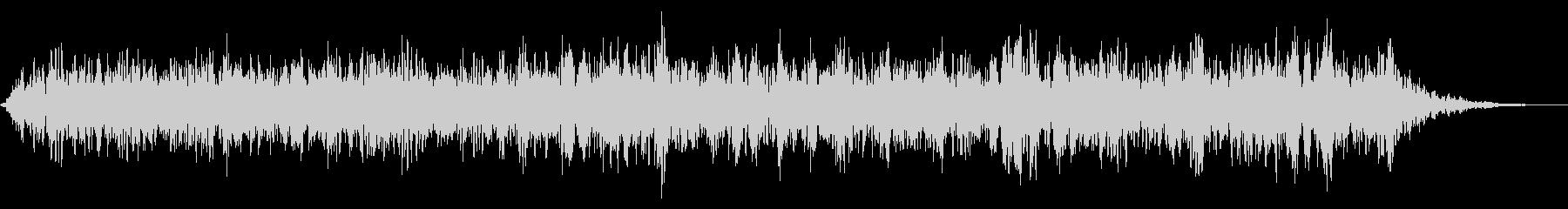 鳴き声のALLの未再生の波形