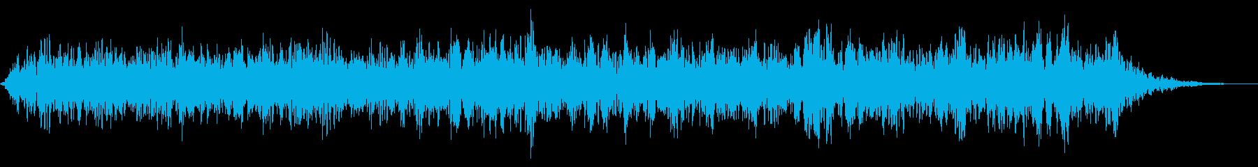 鳴き声のALLの再生済みの波形