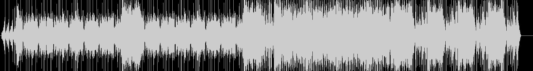 ◎超絶かっこいいオーケストラ機械グルーヴの未再生の波形