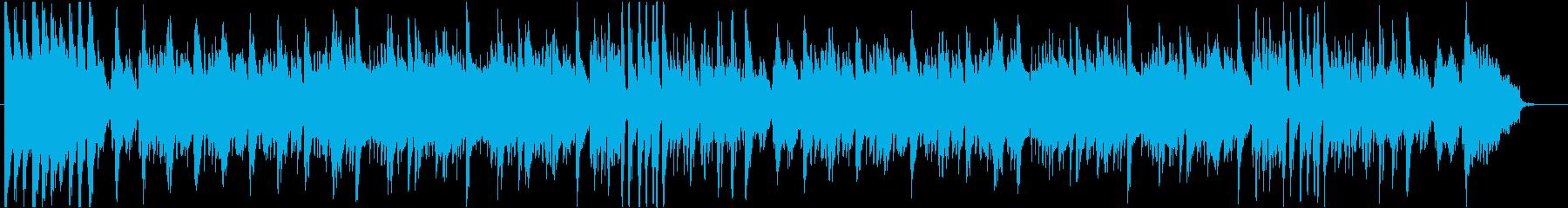 モード全開なボサノバ版「きよしこの夜」の再生済みの波形