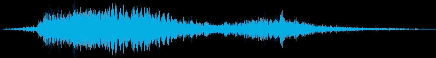 斬撃音!(刀や剣で斬る/刺す効果音)9cの再生済みの波形