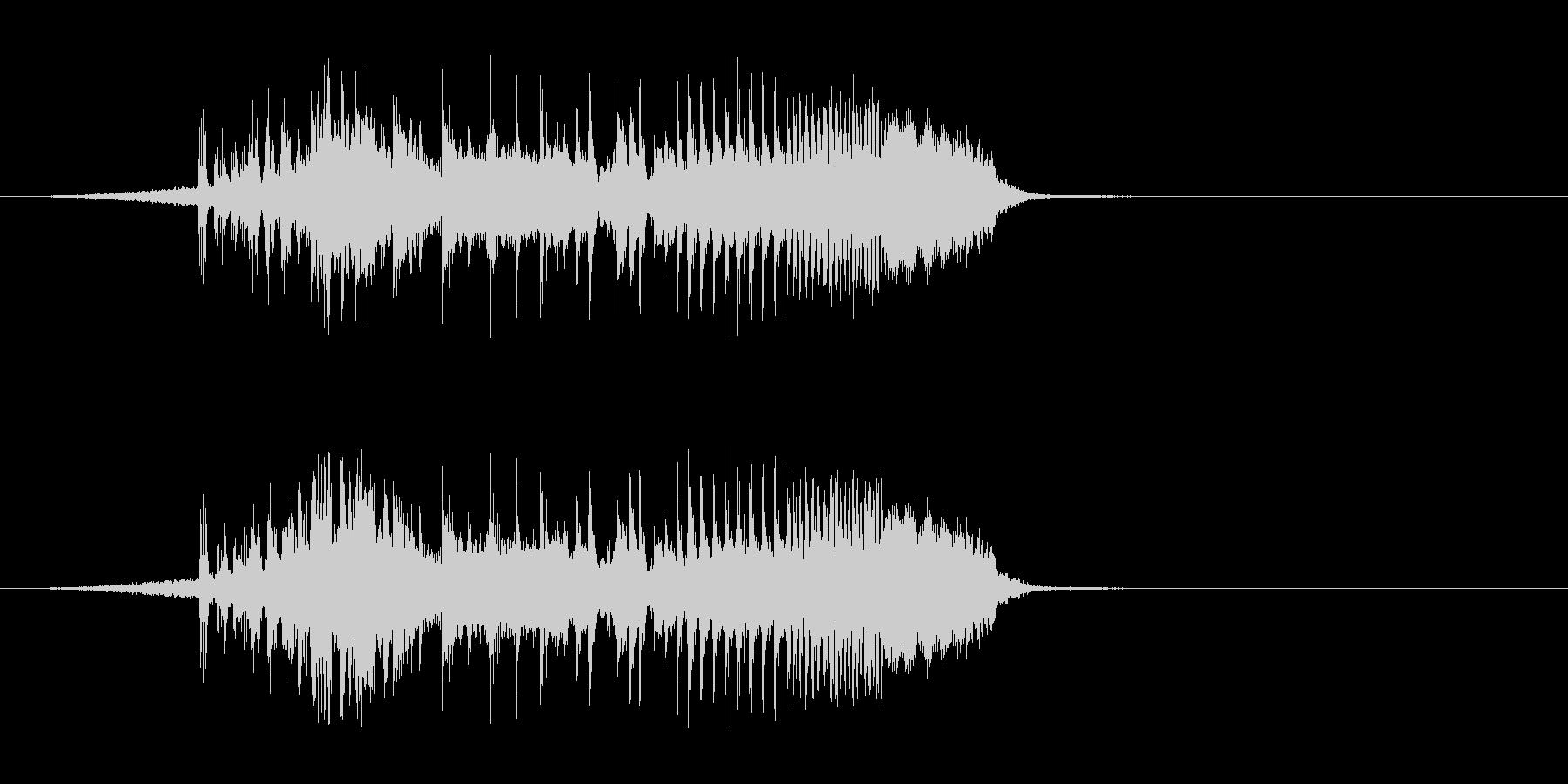 【DJジングル・EDM】オープニングAの未再生の波形