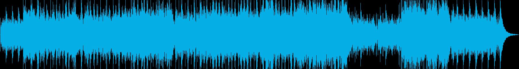 ギターのアルペジオの再生済みの波形