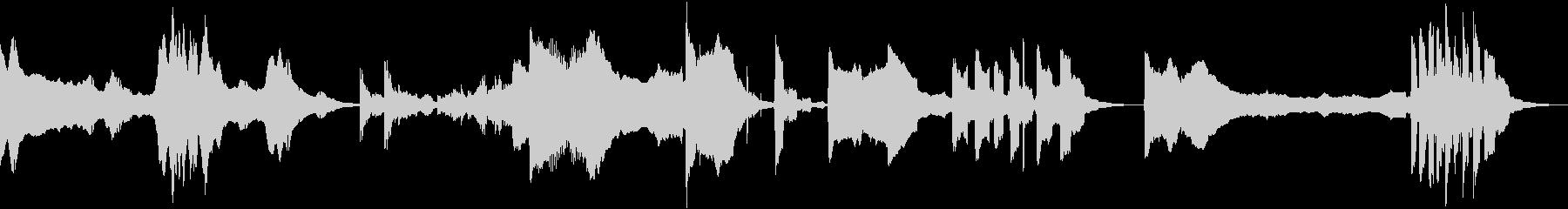 低変調音調バースト、複数バージョン...の未再生の波形