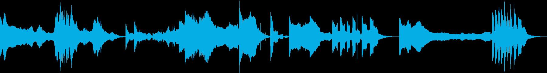 低変調音調バースト、複数バージョン...の再生済みの波形