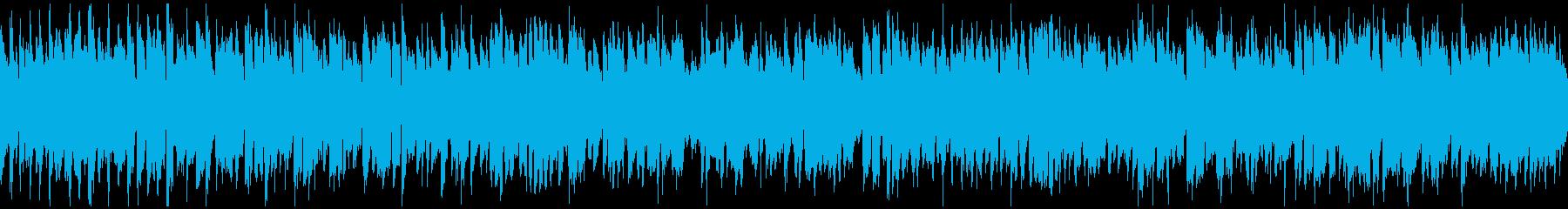 元気いっぱいポップなリコーダー※ループ版の再生済みの波形