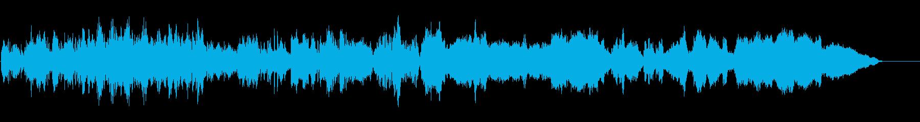 おしゃれでポップなピチカート、生の弦楽奏の再生済みの波形