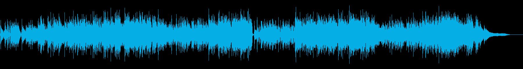 【ドラムなし】哀愁メロディーのボサノバの再生済みの波形