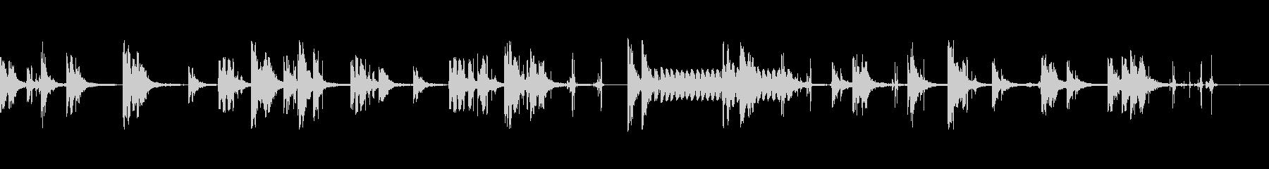 ファイアファイト2の未再生の波形