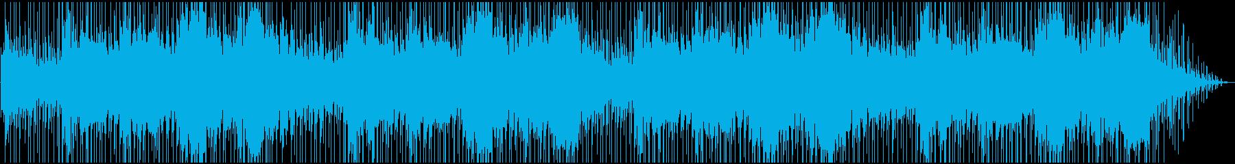 エスニック、インド風BGMの再生済みの波形