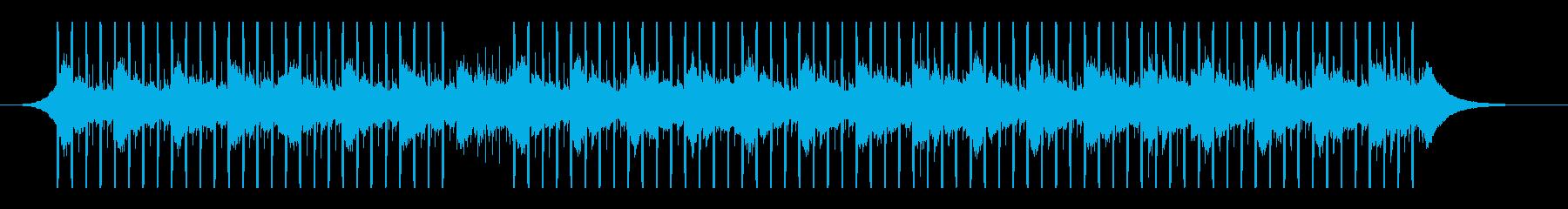 インタビュー(60秒)の再生済みの波形