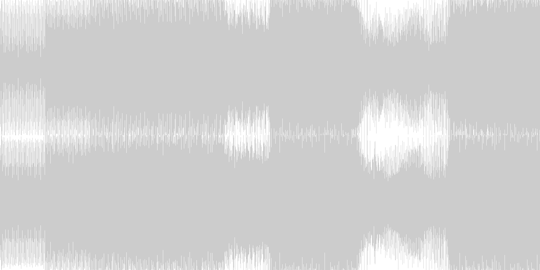 遊び心のあるピアノとストリングスの...の未再生の波形