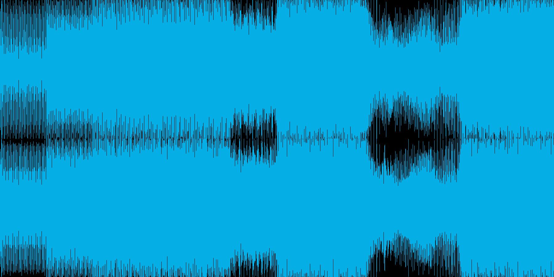 遊び心のあるピアノとストリングスの...の再生済みの波形