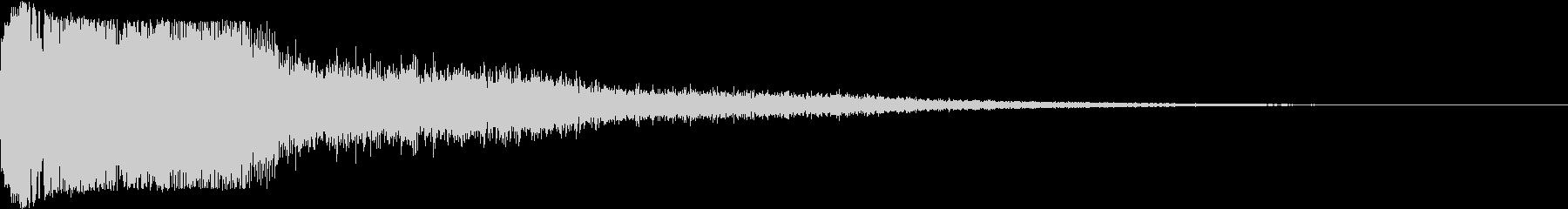 ピコン ピコ チャリン キュイン 2の未再生の波形